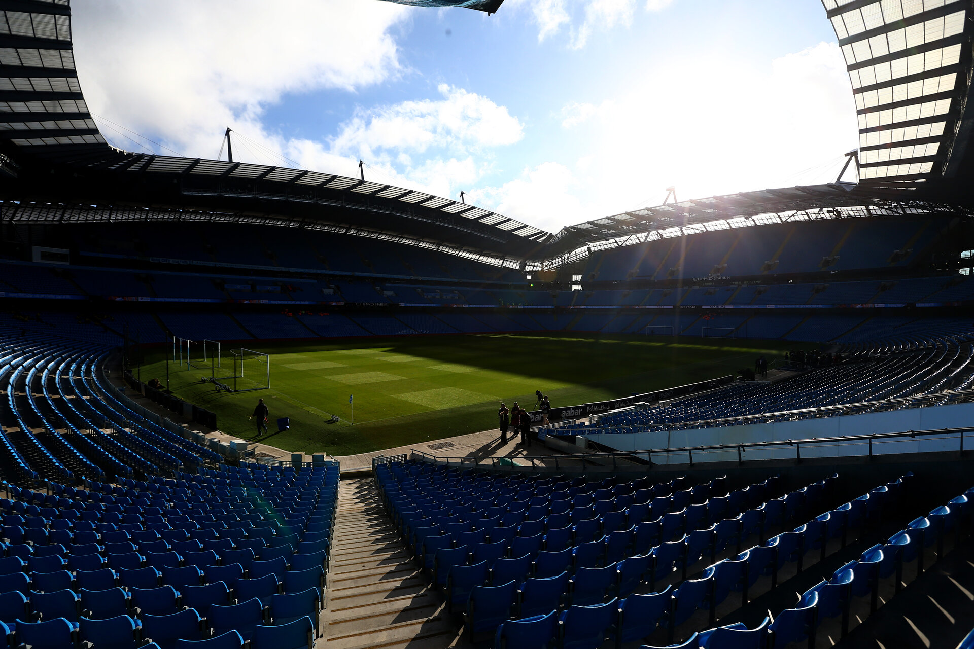 GV during the Premier League match between Manchester City and Southampton at the Etihad Stadium, Manchester, England on 23 October 2016. Photo by Matt  Watson/SFC/Digital South.