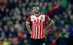 Charlie Austin during the Premier League match between Southampton and Chelsea at St Mary's Stadium, Southampton, England on 30 October 2016. Photo by Matt Watson/SFC/Digital South.