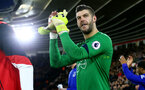 Fraser Forster during the Premier League match between Southampton and Everton at St Mary's Stadium, Southampton, England on 27 November 2016. Photo by Matt  Watson/SFC/Digital South.