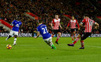 Charlie Austin shoots at goal during the Premier League match between Southampton and Everton at St Mary's Stadium, Southampton, England on 27 November 2016. Photo by Matt  Watson/SFC/Digital South.