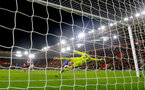 Maarten Stekelenburg saves from Charlie Austin during the Premier League match between Southampton and Everton at St Mary's Stadium, Southampton, England on 27 November 2016. Photo by Matt  Watson/SFC/Digital South.