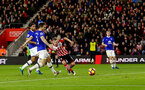 James Ward-Prowse shoots wide during the Premier League match between Southampton and Everton at St Mary's Stadium, Southampton, England on 27 November 2016. Photo by Matt  Watson/SFC/Digital South.