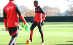 Cuco Martina during a Southampton FC training session at the Staplewood Campus, Southampton, 29th November 2016