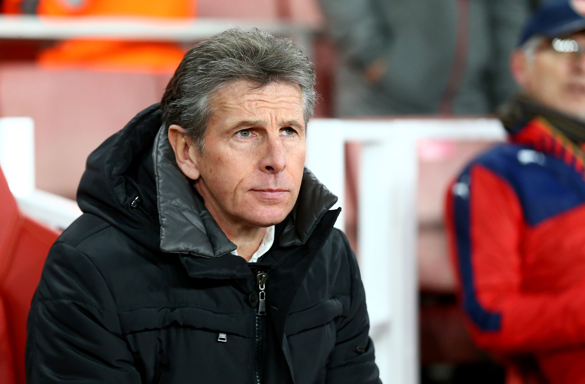 Claude Puel during the EFL Cup match between Arsenal and Southampton at the Emirates Stadium, London, England on 30 November 2016. Photo by Matt  Watson/SFC/Digital South.