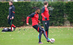 Ryan Bertrand during a Southampton FC training session at The Staplewood Campus, 7th December 2016