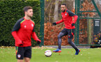 Nathan Redmond during a Southampton FC training session at The Staplewood Campus, 7th December 2016