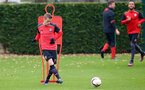 Steven Davis during a Southampton FC training session at The Staplewood Campus, 7th December 2016