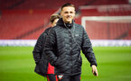 harry hamblin during Southampton FC U18 v Manchester United U18 in the FA youth cup, at Old Trafford, Manchester, 12th December 2016, pic by Naomi Baker/Southampton FC