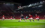 siph mdlalose during Southampton FC U18 v Manchester United U18 in the FA youth cup, at Old Trafford, Manchester, 12th December 2016, pic by Naomi Baker/Southampton FC