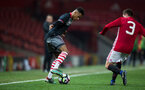 harlem hale during Southampton FC U18 v Manchester United U18 in the FA youth cup, at Old Trafford, Manchester, 12th December 2016, pic by Naomi Baker/Southampton FC