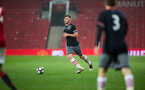 aaron o'driscoll during Southampton FC U18 v Manchester United U18 in the FA youth cup, at Old Trafford, Manchester, 12th December 2016, pic by Naomi Baker/Southampton FC