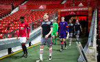 during Southampton FC U18 v Manchester United U18 in the FA youth cup, at Old Trafford, Manchester, 12th December 2016, pic by Naomi Baker/Southampton FC