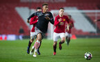 yan valery during Southampton FC U18 v Manchester United U18 in the FA youth cup, at Old Trafford, Manchester, 12th December 2016, pic by Naomi Baker/Southampton FC