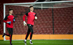 adam parkes and alex cull during Southampton FC U18 v Manchester United U18 in the FA youth cup, at Old Trafford, Manchester, 12th December 2016, pic by Naomi Baker/Southampton FC