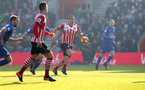 Oriol Romeu during the Premier League match between Southampton and Leicester City at St Mary's Stadium, Southampton, England on 21 January 2017. Photo by Matt  Watson/SFC/Digital South.