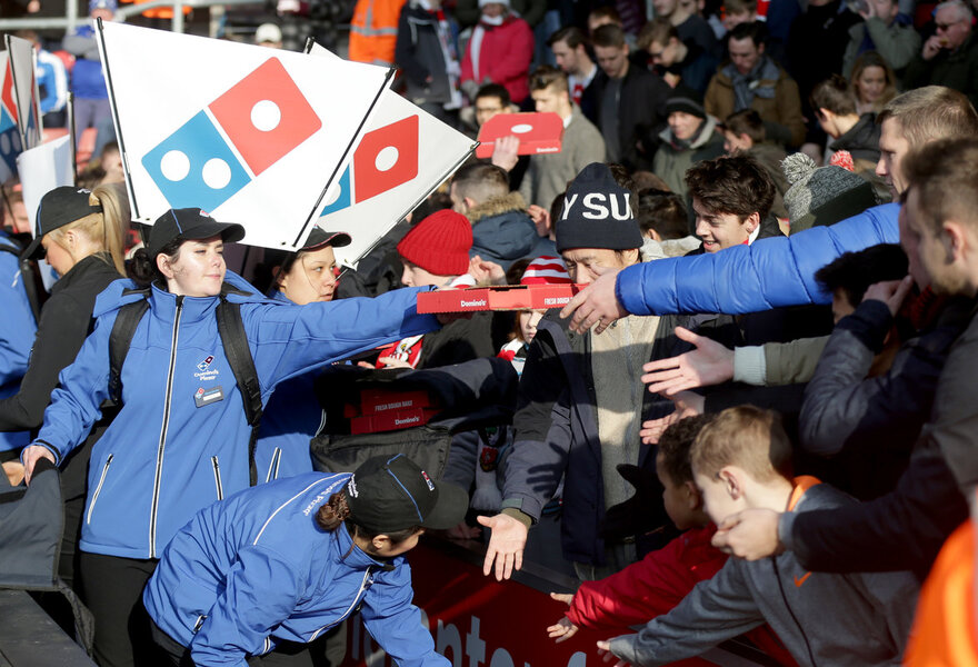 Dominos Pizza Offer Extended For Southampton Fans