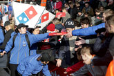 Domino's Pizza offer extended for Southampton fans