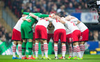 team huddle during the EFL Cup Final match between Manchester United and Southampton at Wembley Stadium, London, England on 26 February 2017. Photo by Naomi Baker/SFC/Digital South.
