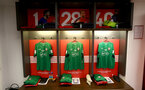 Inside the Southampton FC dressing room during the EFL Cup Final match between Manchester United and Southampton at Wembley Stadium, London, England on 26 February 2017. Photo by Matt Watson/SFC/Digital South.