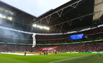 Pre match during the EFL Cup Final match between Manchester United and Southampton at Wembley Stadium, London, England on 26 February 2017. Photo by Matt Watson/SFC/Digital South.