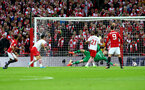 Jesse Lingard scores during the EFL Cup Final match between Manchester United and Southampton at Wembley Stadium, London, England on 26 February 2017. Photo by Matt Watson/SFC/Digital South.