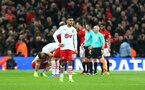 Sofiane Boufal during the EFL Cup Final match between Manchester United and Southampton at Wembley Stadium, London, England on 26 February 2017. Photo by Matt Watson/SFC/Digital South.