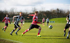 jake hesketh during the Premier League Cup match between Newcastle U23 and Southampton U23 at Whitley Park, Newcastle, England on 28 February 2017. Photo by Naomi Baker/SFC/Digital South.