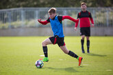 Vokins and England Under-17s win Euros opener