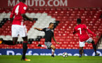 tyreke johnson during Southampton FC U23 v Manchester United U23, at Old Trafford, Manchester, 13th March 2017, pic by Naomi Baker/Southampton FC