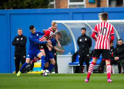 U18 Gallery: Leicester 1-0 Saints