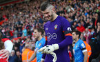 Fraser Forster during the Premier League match between Bournemouth and Southampton at Vitality Stadium, Bournemouth, England on 18 December 2016. Photo by Matt Watson/SFC/Digital South.