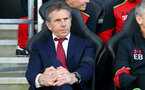 Claude Puel during the Premier League match between Bournemouth and Southampton at Vitality Stadium, Bournemouth, England on 18 December 2016. Photo by Matt Watson/SFC/Digital South.