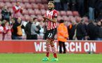 Nathan Redmond (Southampton) applauds the fans during the Premier League match between Southampton and Bournemouth at St Mary's Stadium, Southampton, England on 1 April 2017.