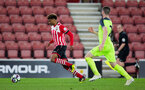 marcus barnes during Southampton FC U23 v Liverpool U23, at St Mary's stadium, Southampton, 10th April 2017, pic by Naomi Baker/Southampton FC