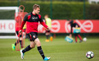 Ryan seager During a Southampton FC U18's and U23's training session at the Staplewood Campus, on the 20th April 2017