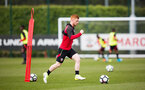 Harrison Reed During a Southampton FC U18's and U23's training session at the Staplewood Campus, on the 20th April 2017