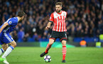 Jay Rodriguez during the Premier League match between Chelsea and Southampton at Stamford Bridge, London. Photo by Matt Watson/SFC/Digital South.