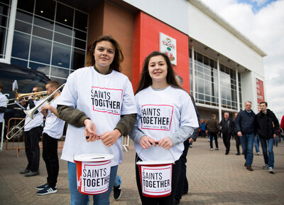 Saints Together campaign raises over £20k