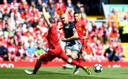 Oriol Romeu during the Premier League match between Liverpool and Southampton at Anfield, Liverpool. Photo by Matt Watson/SFC/Digital South.