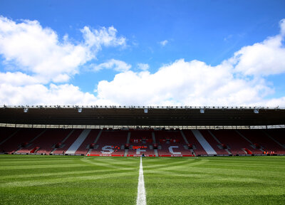 St Mary's pitch gets first cut