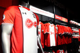 Win a signed shirt with Saints' Stores