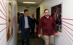 New Southampton FC manager Mauricio Pellegrino is shown around by Hugo Scheckter as he arrives for his first day at the club, pictured at Southampton FC's Staplewood Campus, Southampton, 30th June 2017