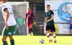 Steven Davis during a pre season friendly between St Etienne(white) and Southampton FC(black), at The Stade Municipal de Chambéry, France, 29th July 2017