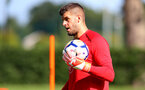 Fraser Forster during a Southampton FC pre season training session at the Staplewood Campus, Southampton, 31st July 2017