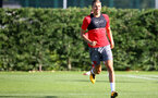 Jan Bednarek during a Southampton FC pre season training session at the Staplewood Campus, Southampton, 31st July 2017