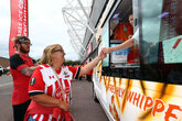 Free ice cream at Burnley – thanks to Virgin Media