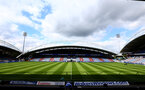 HUDDERSFIELD, ENGLAND - AUGUST 26: GV ahead of the Premier League match between Huddersfield Town and Southampton at the John Smith Stadium on August 26, 2017 in Huddersfield, England. (Photo by Matt Watson/Southampton FC via Getty Images)