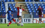 Aaron O'Driscoll during the Check a Trade Trophy group stage match between Peterborough United and Southampton FC U21, at ABAX Stadium, Peterborough, 29th August 2017