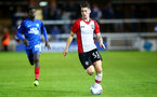Callum Slattery during the Check a Trade Trophy group stage match between Peterborough United and Southampton FC U21, at ABAX Stadium, Peterborough, 29th August 2017
