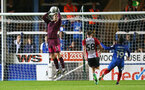 Alex McCarthy during the Check a Trade Trophy group stage match between Peterborough United and Southampton FC U21, at ABAX Stadium, Peterborough, 29th August 2017